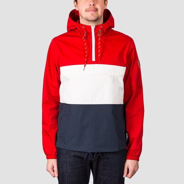 Element Covert Pullover Jacket Pompeian Red - Clothing