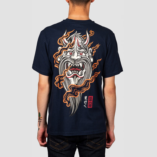 Element Demon Keeper Tee Indigo