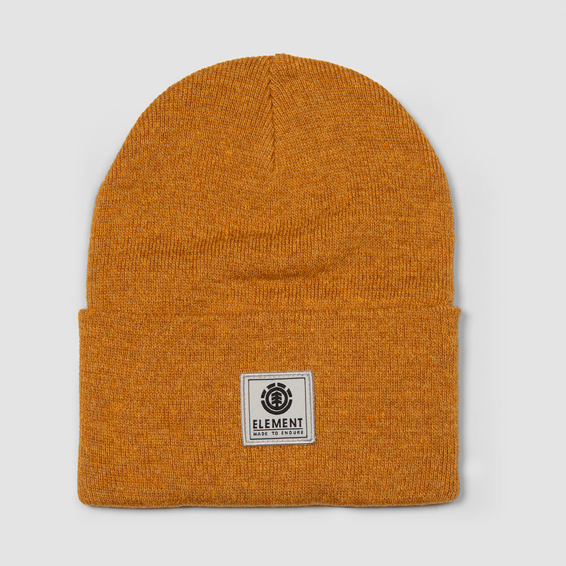 Element Dusk Beanie Old Gold Heather