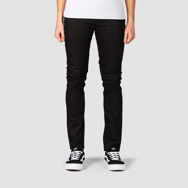 Element E01 Color Slim Jeans Flint Black