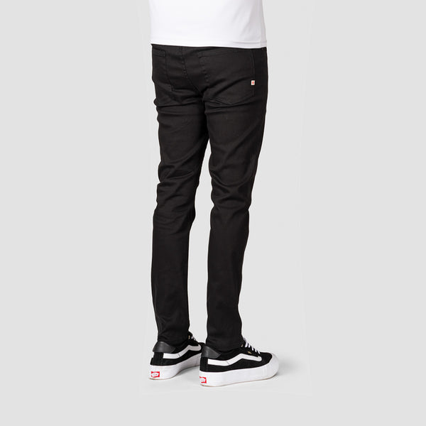 Element E02 Color Slim Straight Jeans Flint Black