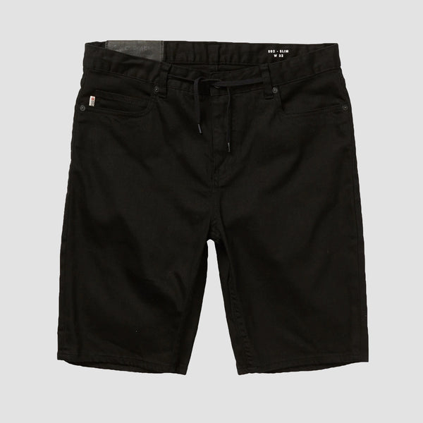 Element E02 Color Work Shorts Flint Black - Kids