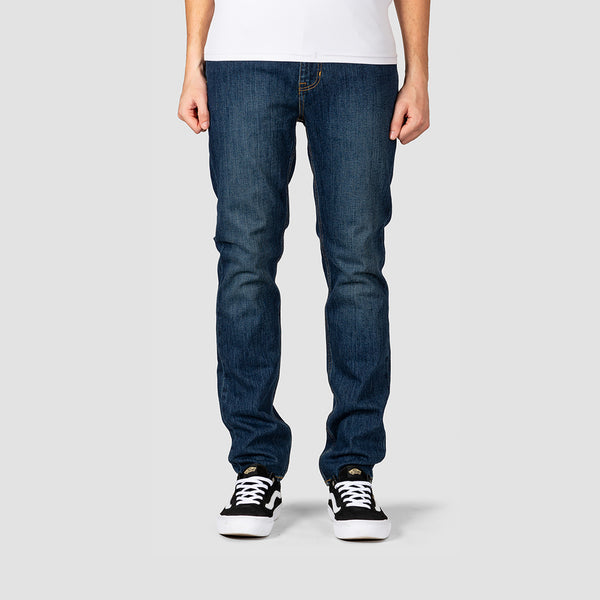 Element E02 Slim Straight Jeans Dark Used