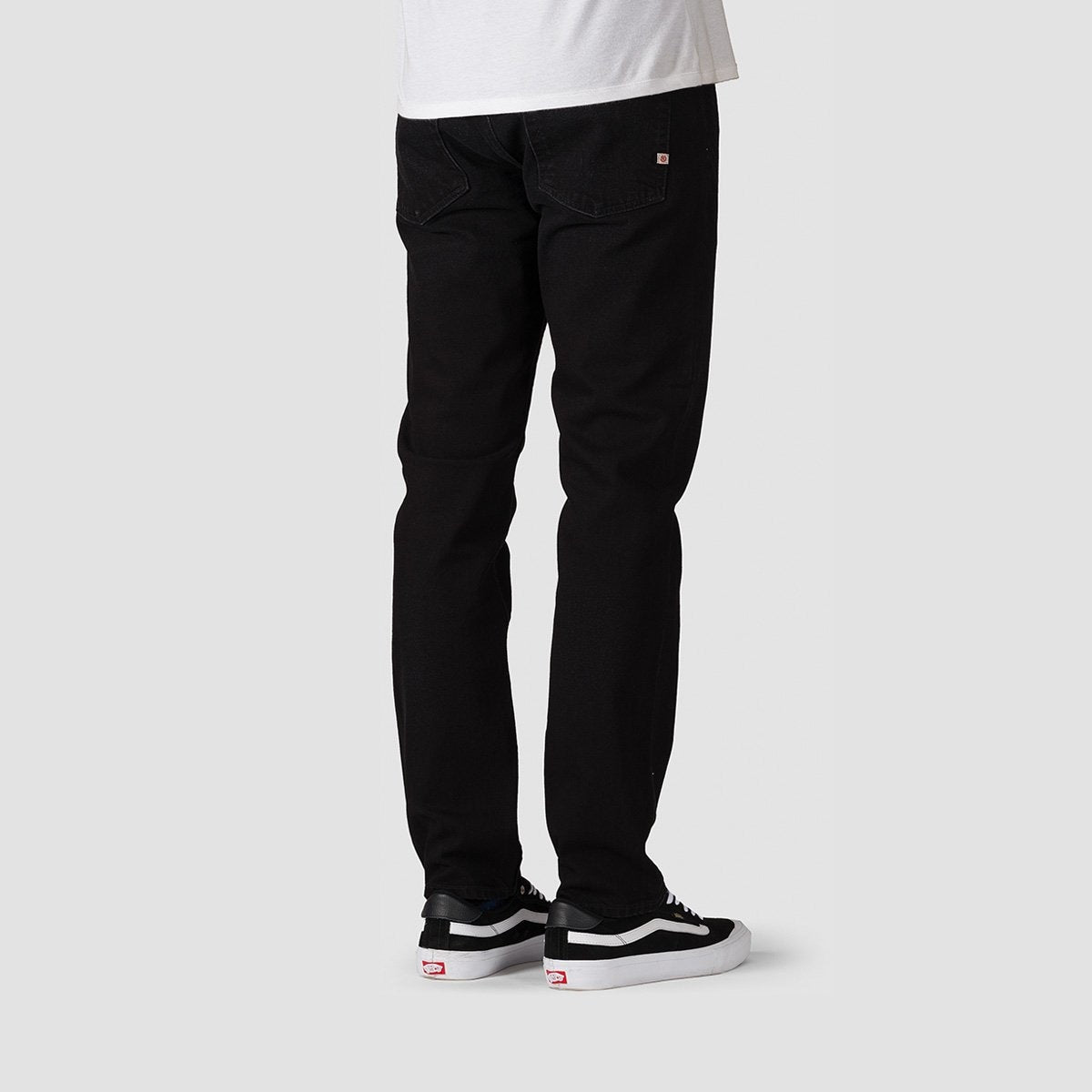 Element E03 Jeans Black Dark Used - Clothing