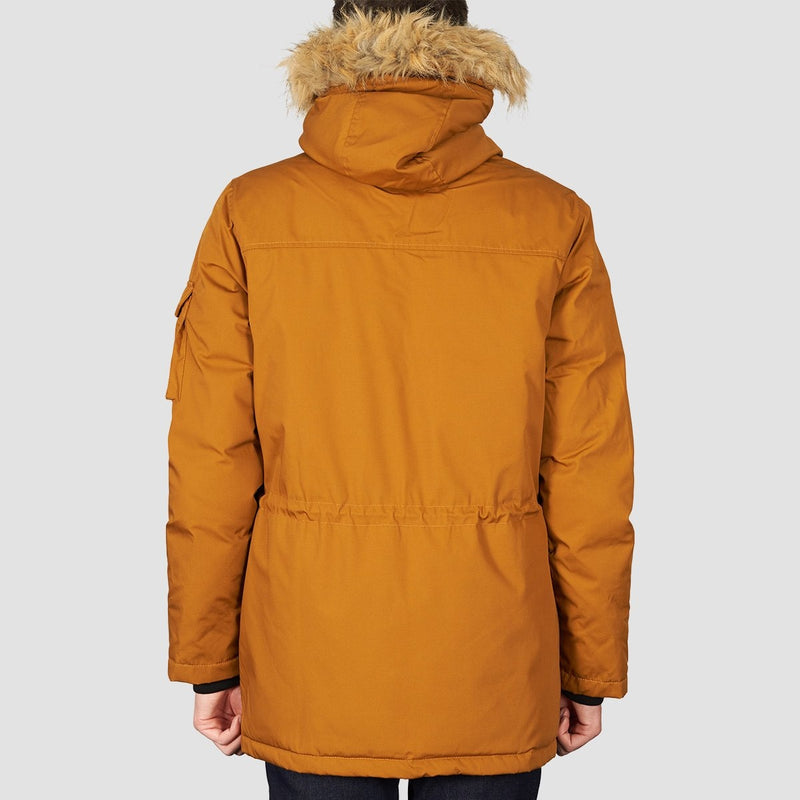 Element Explorer Down Parka Jacket Gold Brown - Clothing