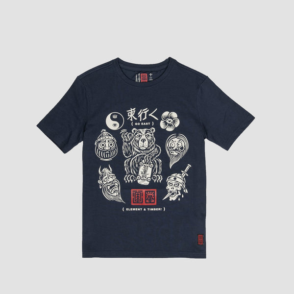 Element Flash Tee Indigo - Kids