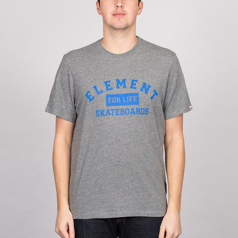 Element For Life Tee Grey Heather