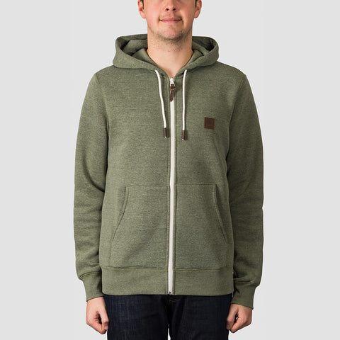 Element Heavy Zip Hood Forest Night Heather