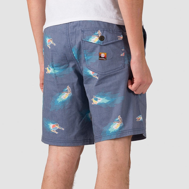 Element Hoffman Arroyo Shorts Neon Blue - Clothing