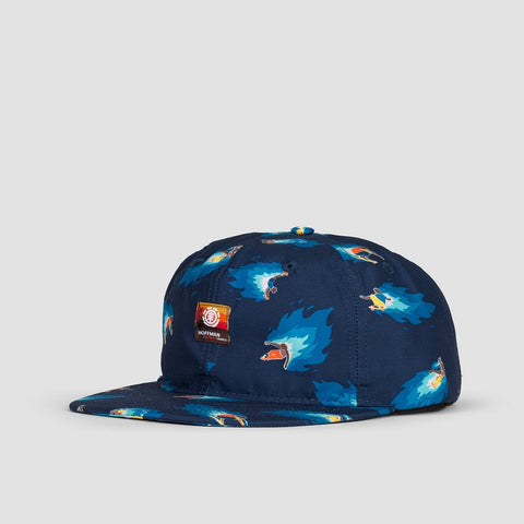 Element Hoffman Cap Neon Blue