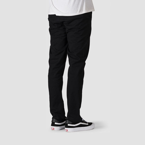 Element Howland Classic Chino Pants Flint Black - Clothing