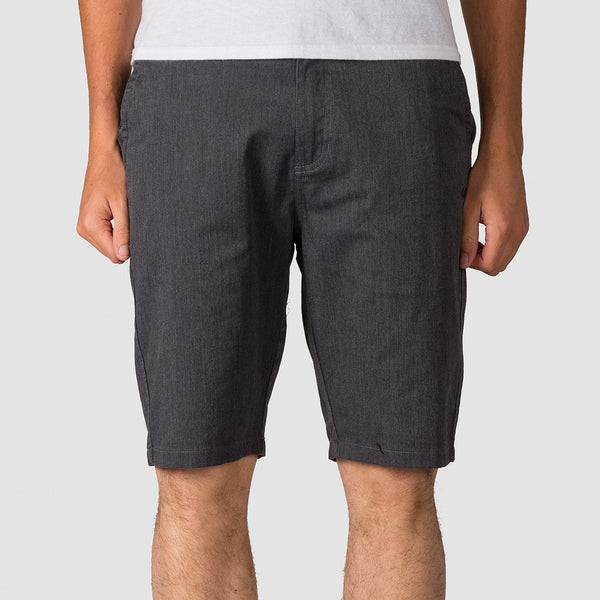 Element Howland Classic Walkshorts Charcoal Heather - Clothing