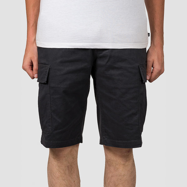 Element Legion Cargo Shorts Off Black