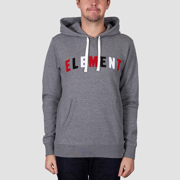 Element Liner Pullover Hood Grey Heather - Clothing