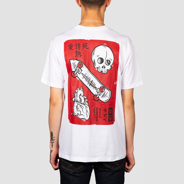 Element Love Passion Death Tee Optic White