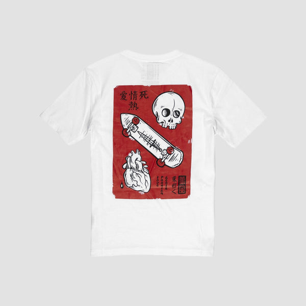Element Love Passion Death Tee Optic White - Kids