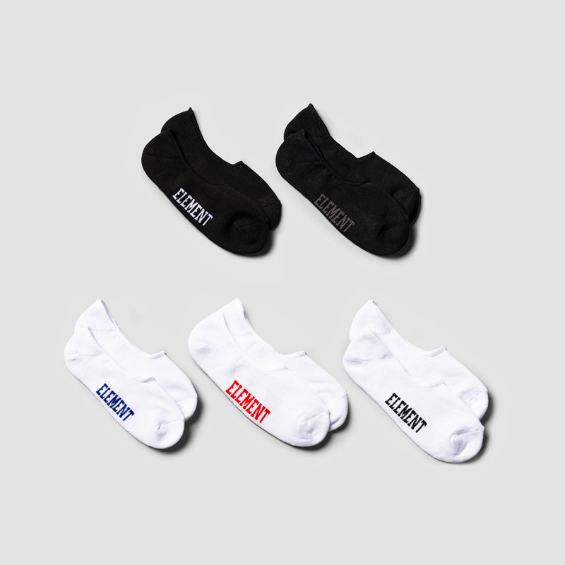 Element Low-Rise Socks 5 Pack Multico