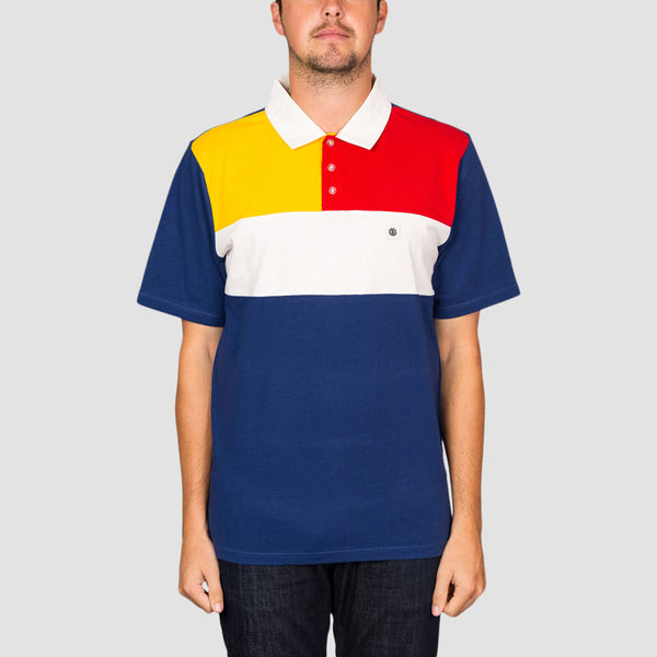 Element Marco Short Sleeve Polo Blue Depths