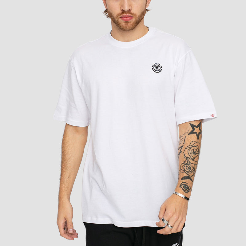 Element Marks Tee Optic White