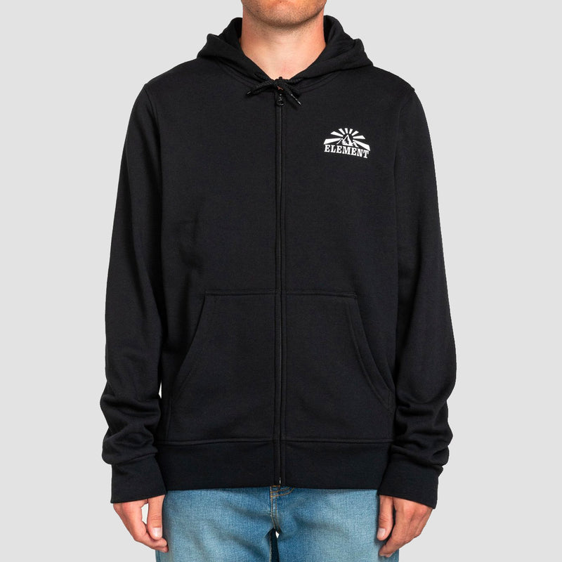 Element Medwell Zip Hood Flint Black
