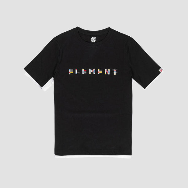 Element Metz Tee Flint Black - Kids