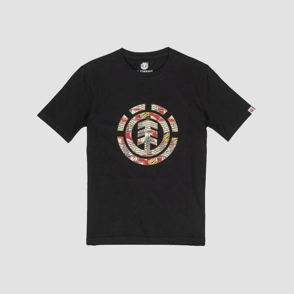 Element Origins Icon Tee Flint Black - Kids