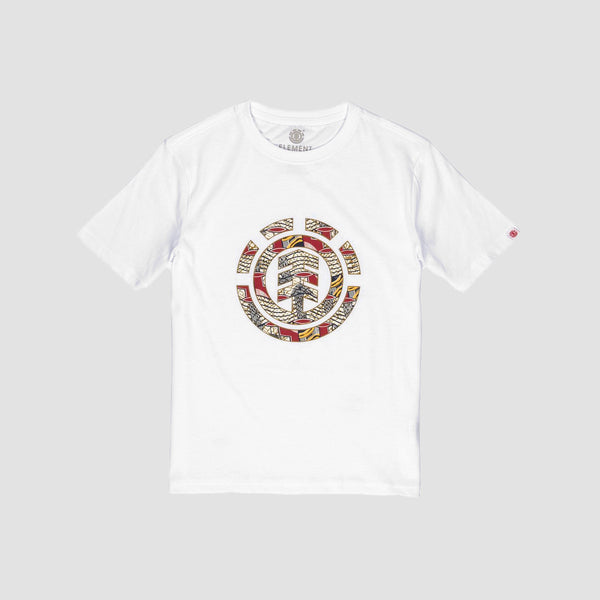Element Origins Icon Tee Optic White - Kids