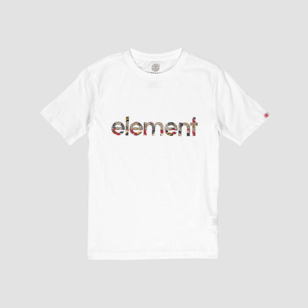 Element Origins Tee Optic White - Kids