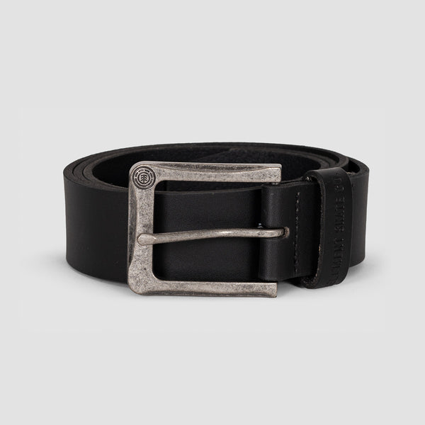 Element Poloma Leather Belt Black