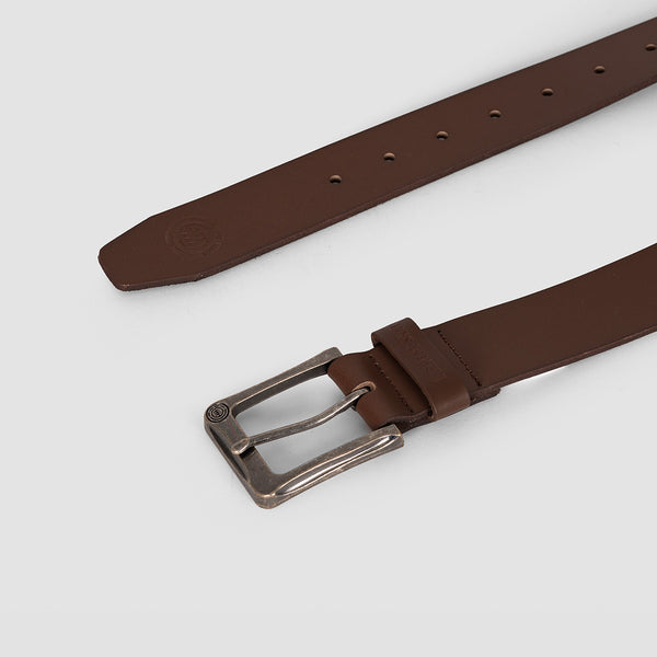 Element Poloma Leather Belt Chocolate