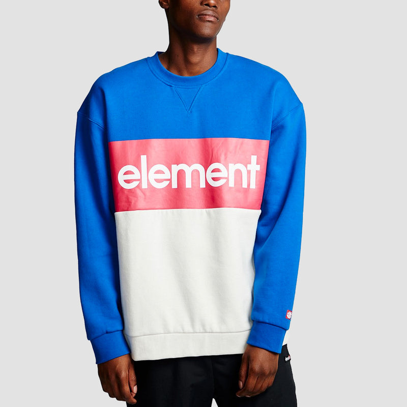 Element Primo Division Crew Sweat Nautical Blue
