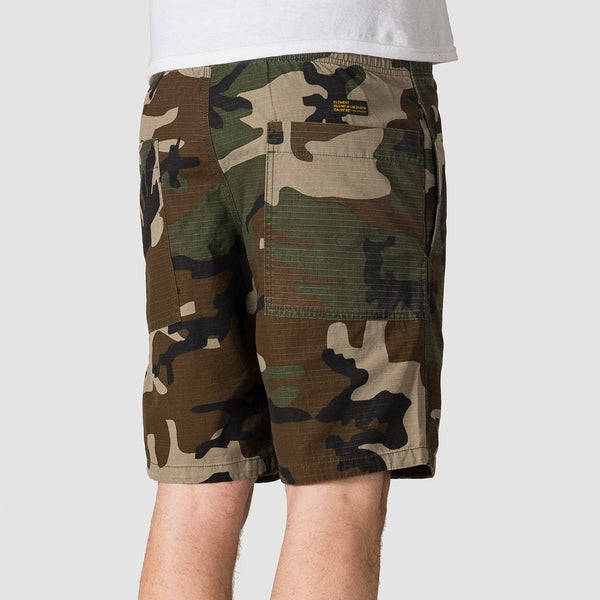 Element Pull Up Ripstop Camo Walkshorts Camo - Clothing