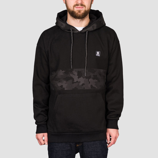 Element Resist Pullover Hood Flint Black