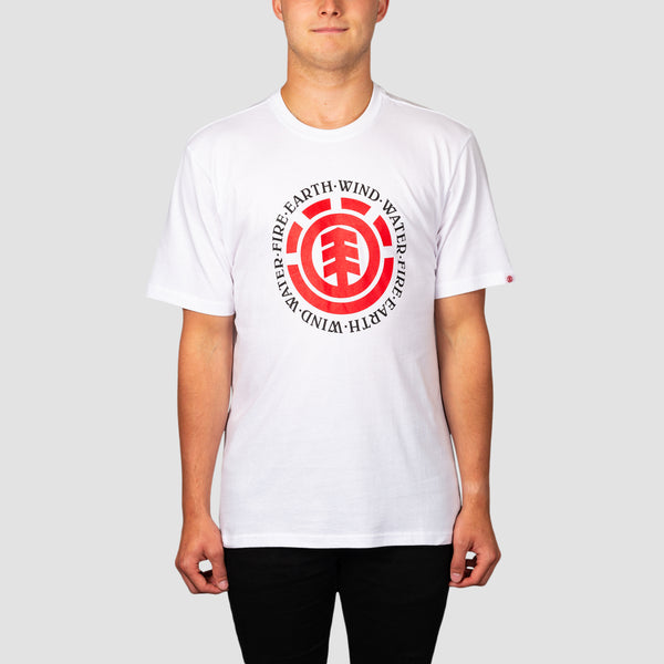 Element Seal Tee Optic White