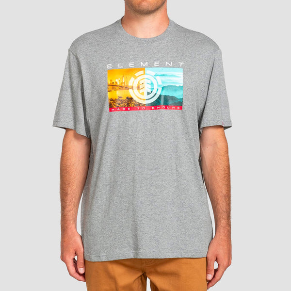 Element Sentinel Tee Charcoal Heather