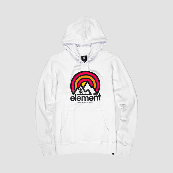 Element Sonata FT Pullover Hood Optic White - Kids
