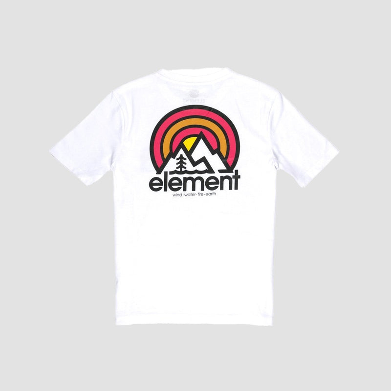Element Sonata Tee Optic White - Kids - Clothing