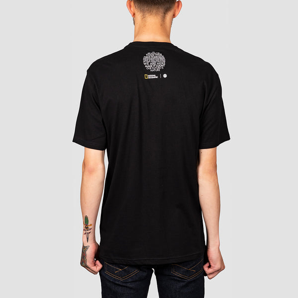 Element Spiral Tee Flint Black
