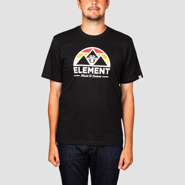 Element Squaw Tee Flint Black