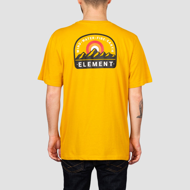 Element Stahl Tee Old Gold
