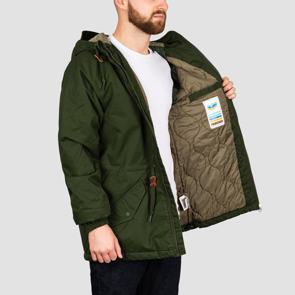 Element Stark Raglan Jacket Olive Drab