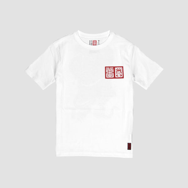 Element Tradition Tee Optic White - Kids