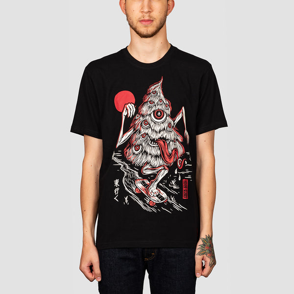 Element Tree Ghost Tee Flint Black