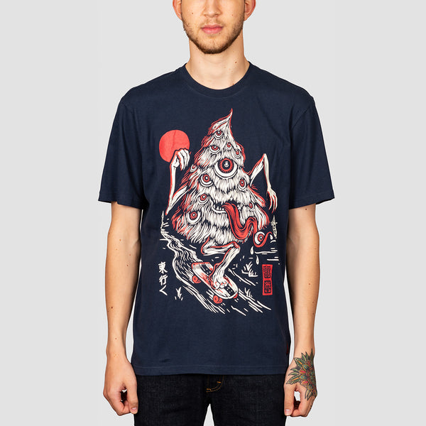Element Tree Ghost Tee Indigo