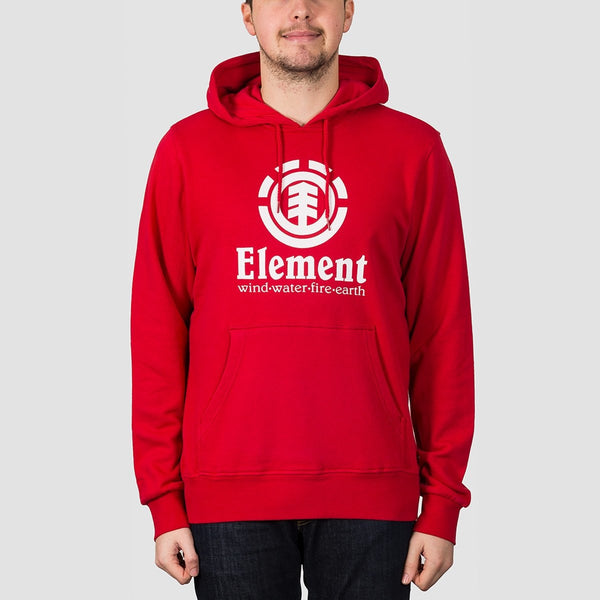 Element Vertical FT Pullover Hood Chili Pepper - Clothing