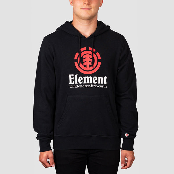 Element Vertical FT Pullover Hood Flint Black