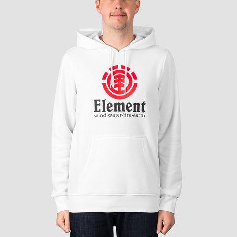Element Vertical Pullover Hood Optic White