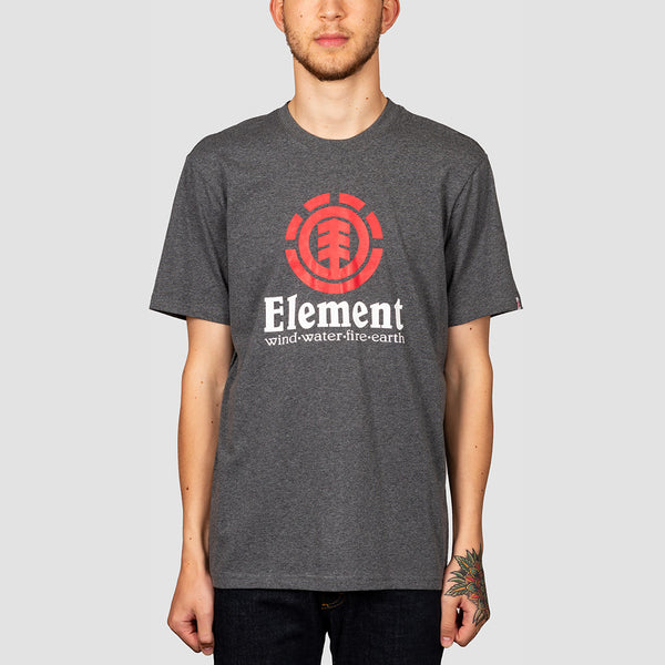 Element Vertical Tee Charcoal Heather