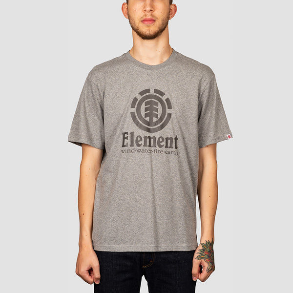 Element Vertical Tee Grey Heather