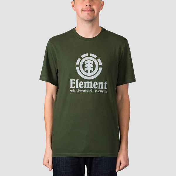Element Vertical Tee Olive Drab - Clothing